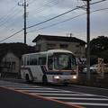 かさま観光周遊バス 代走 日野・リエッセ 1180号車