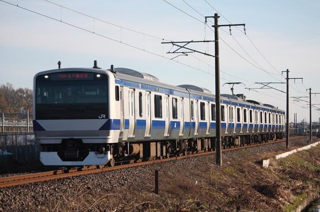 常磐線 E531系K473編成 736M 普通小山行