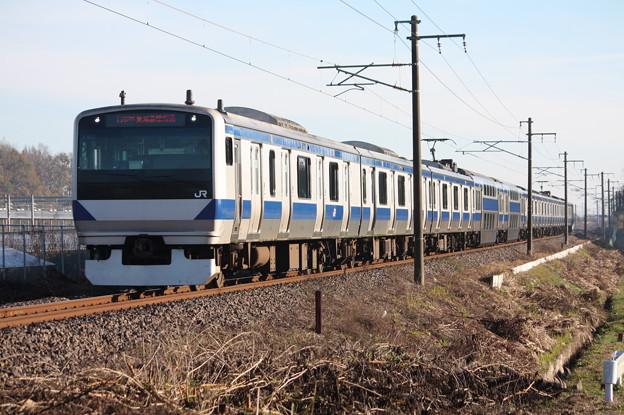 常磐線 E531系K403編成 1152M 普通品川行