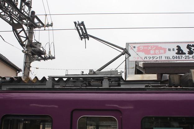 江ノ島電鉄1000形 シングルアームパンタグラフ