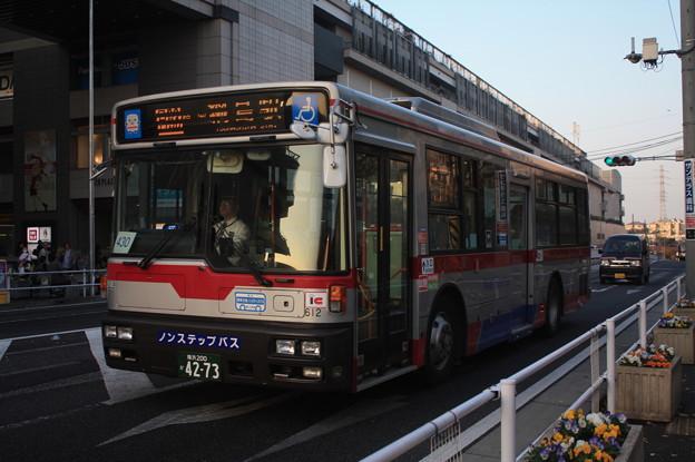 東急バス NI612号車 日93系統