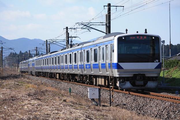 常磐線 E531系K413編成 351M 普通勝田行