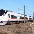 E657系K10編成「前面強化」 1076M 特急ときわ76号 品川行