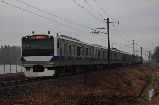 常磐線 E531系K407編成 1152M 普通品川行