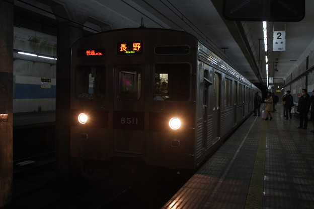 Photos: 長野電鉄8500系T1編成