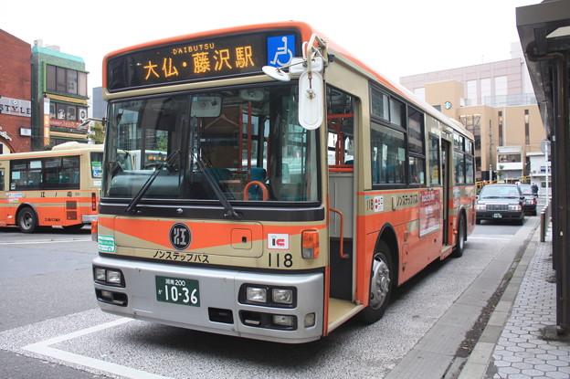 江ノ電バス 118号車