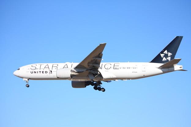 写真: ユナイデッド航空 ボーイング777-200 N794UA スターアライアンス塗装 (5)