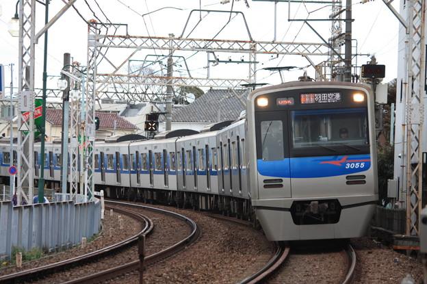京成押上線 3050形3055編成 (1)