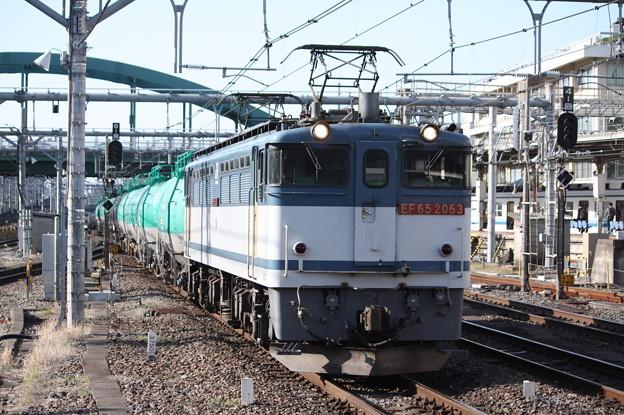 Photos: EF65 2063牽引 貨物列車 (7)