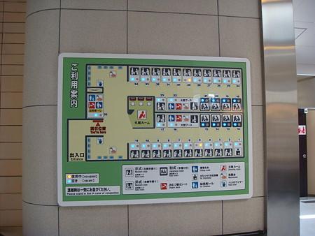 トイレの個室マップ