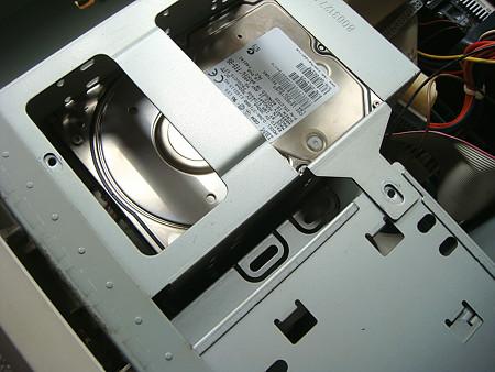 このHDDをとりたいが……