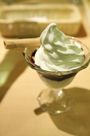 アサイーのソフトクリーム