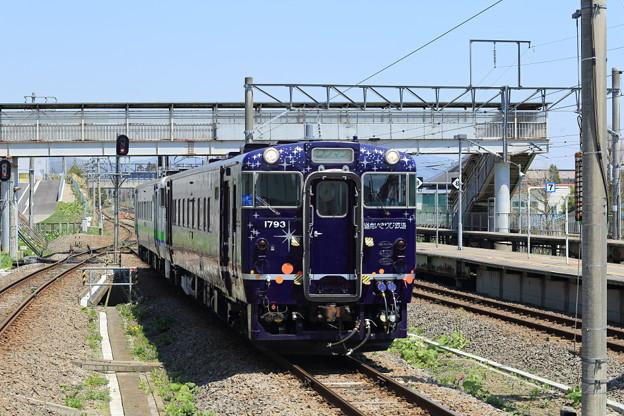 Photos: 道南いさり火鉄道『ながまれ号』