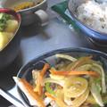 Photos: 食べきれず、南蛮漬けな朝食(2015_11_23)