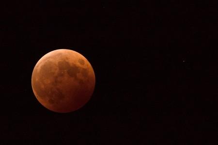 Lunar Eclipse w/ Uranus