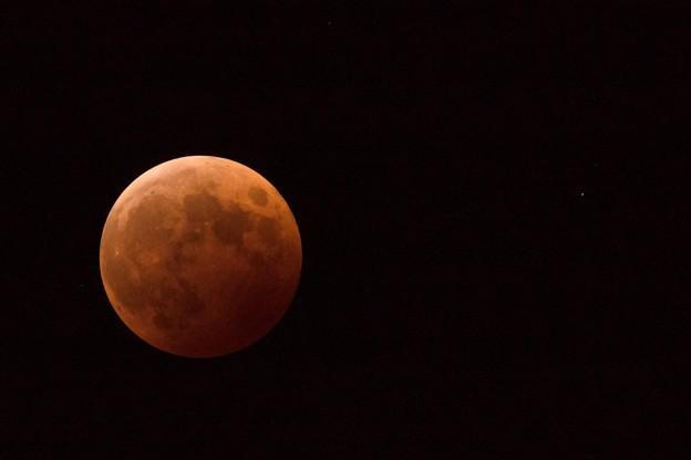 写真: Lunar Eclipse w/ Uranus