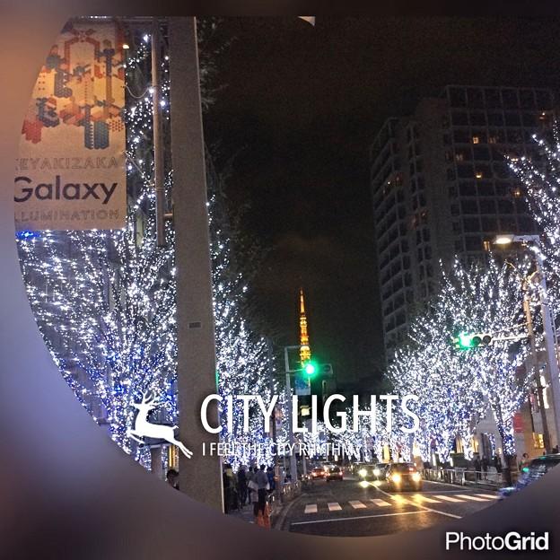 けやき坂 東京タワー
