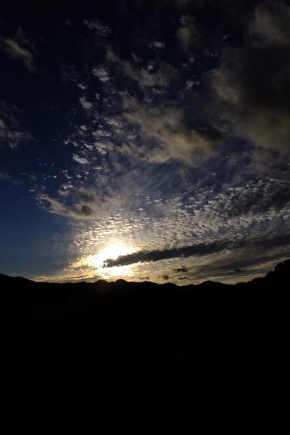 秋のうろこ雲