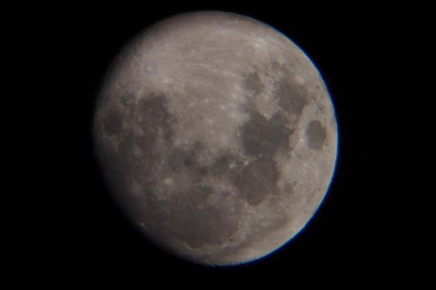 月齢11、2016年4月19日20時頃撮影