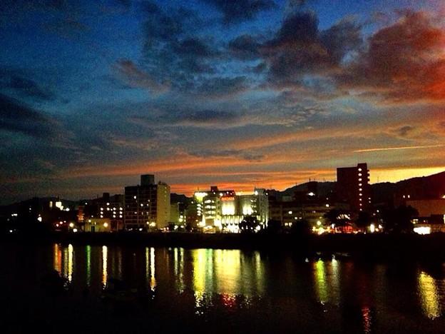 7月30日 太田川