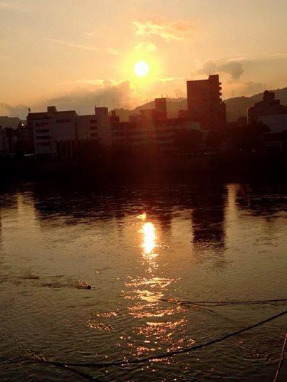 7月15日 太田川