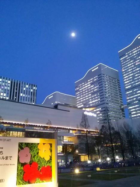 写真: お月さま\(^o^)/♪