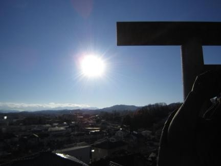 元日のお陽さま^^
