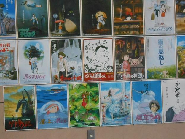 ジブリ作品のポスター