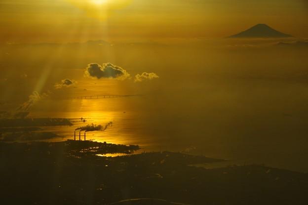 写真00835 アクアラインと富士の山