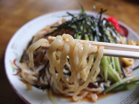 清水屋 冷し中華 並(夏季限定) 麺アップ
