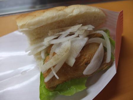 野菜楽市おうみがわ サバサンド・レギュラー¥280