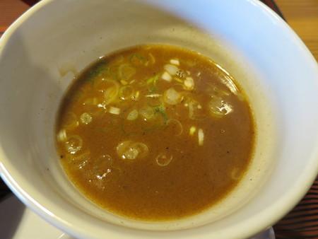 にぼし醤油らーめん 神楽屋 濃厚魚介チャーシューつけ麺(2玉) スープアップ