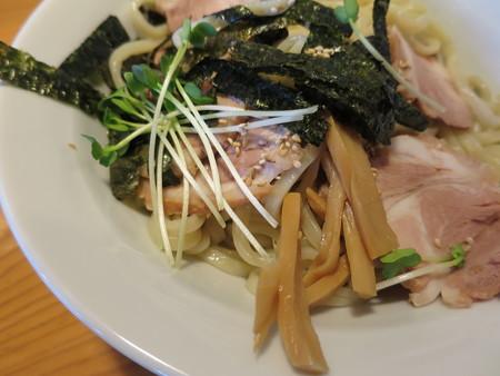 にぼし醤油らーめん 神楽屋 濃厚魚介チャーシューつけ麺(2玉) 具材の様子