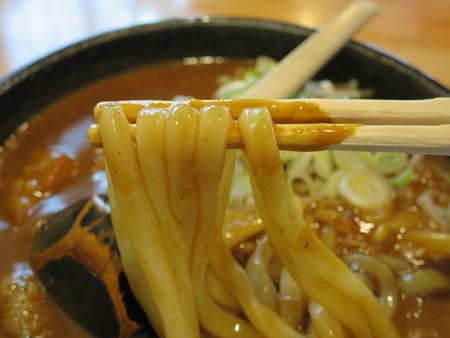 吉宗 カレーうどん 麺アップ