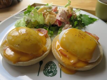 フェルの台所 エッグベネディクト(限定10食) アップ