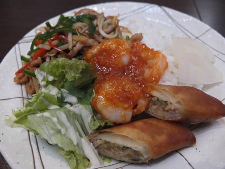 Dining&Bal Hot Seed ランチプレート(特別メニュー) アップ