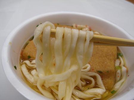 日清のどん兵衛 きつねうどん(西日本) 麺アップ