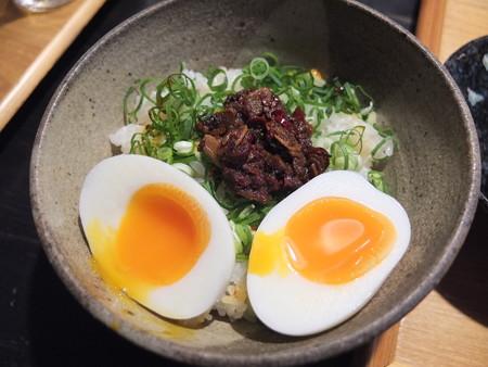 讃岐うどん房 鶴越 半熟玉子のせねぎラー飯¥340