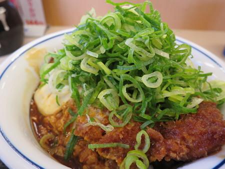かつや上越店 ねぎ味噌カツ丼(期間限定) アップ
