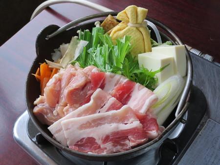 ちゃんこ江戸沢 新潟長岡今朝白店 大関ちゃんこ鍋(塩スープ) アップ