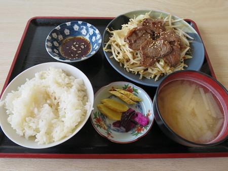 だるま家 ジンギスカン定食¥900