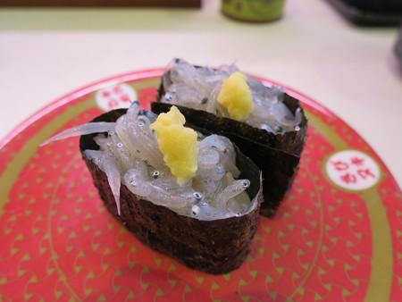 はま寿司 上越店 日本近海産 生しらす¥97(平日価格)