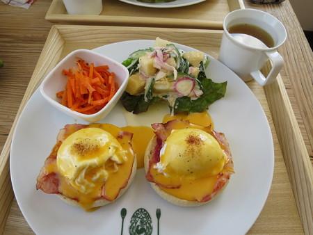 フェルの台所 エッグベネディクト¥850(単品価格)