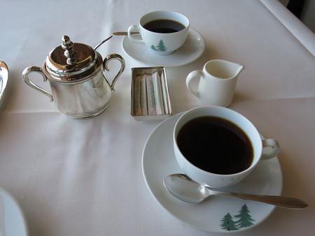 赤倉観光ホテル ソルビエ コーヒー(セットメニュー、+¥600)
