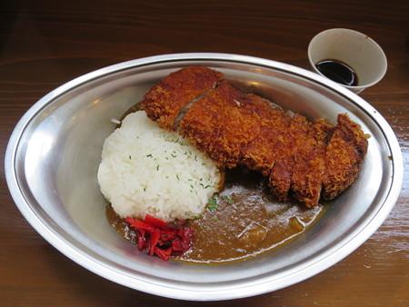 石臼挽き手打ち蕎麦 慶 特製あつぎりカツカレー(食べ放題付き)¥972