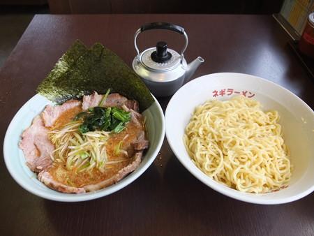 ラーメンショップ 福橋店 ネギチャーシューつけ麺 並盛¥1080