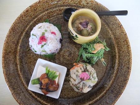 はな禅 2016/04/15Veganランチセット 花膳(限定15食) 副菜