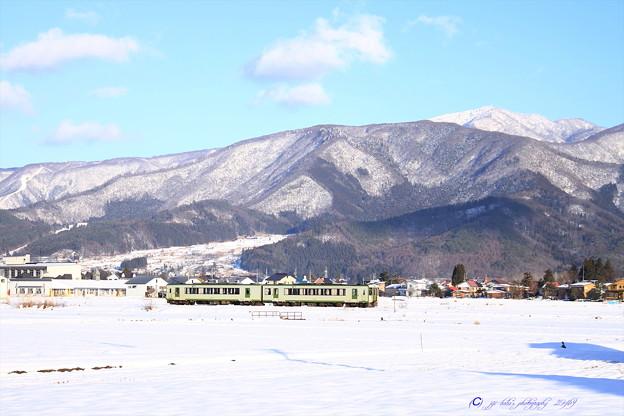 飯山線雪景色 (3)