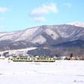写真: 飯山線雪景色 (3)