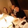写真: グランドホテルで中華